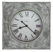 Howard Miller Deluxe 31.5in Oversized Aged Metal Wall Clock - CHM4788
