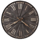 Howard Miller 35in Metal Gallery Wall Clock - CHM4820