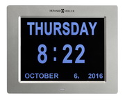 Howard Miller Deluxe Digital Wall/Table Memory Clock with Backlight - CHM4824