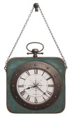Howard Miller Deluxe Hanging Metal Wall Clock - CHM4828