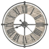 Howard Miller 32in Wronght Iron Wall Clock - CHM4926