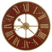 Howard Miller 32in Wronght Iron Wall Clock - CHM4932