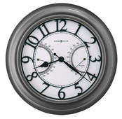Howard Miller 24.25in Outdoor/Indoor Metal Wall Clock - CHM4948