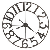 Howard Miller 49in Wronght Iron Wall Clock - CHM4956