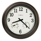 Howard Miller 18in Outdoor/Indoor Metal Wall Clock - CHM4958