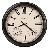 Howard Miller 22in Outdoor/Indoor Metal Wall Clock - CHM4962