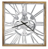 Howard Miller 25.5in Square Wall Clock - CHM4966