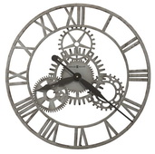 Howard Miller 20in Wrought Iron Wall Clock - CHM4974