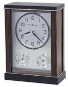 Howard Miller Deluxe Macassar Ebony Finish Mantel Clock - CHM4144