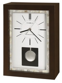 Howard Miller CHM4152 Deluxe Espresso Finish Westminster Chime Mantel Clock