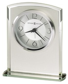 Howard Miller Striking Frosted Glass Tabletop & Desk Clock - CHM4170
