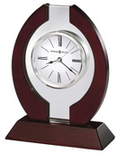 Howard Miller Handsome Clock Floating Dial Desk & Tabletop Clock - CHM4172