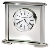 Howard Miller Prestigious Oval-Shaped Metal Table & Desk Clock - CHM4174