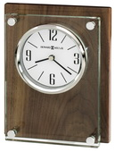 Howard Miller Fashionable Table & Desk Clock In Walnut Finish - CHM4176