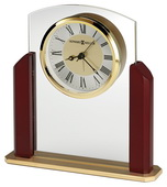Howard Miller Glass Tabletop Alarm Clock - CHM4844