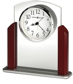 Howard Miller Quartz Glass Tabletop Alarm Clock - CHM4846
