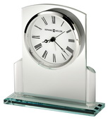 Howard Miller Glass Arched Tabletop Alarm Clock - CHM4862