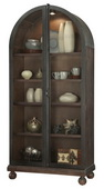 39.63in Wide Howard Miller NAOMI Deluxe Wooden Display Curio Cabinet (Made in USA) - CHM4782