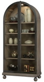 Howard Miller NAOMI II Wooden Display Curio Cabinet (Made in USA) - CHM4784