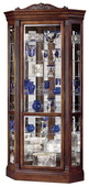 Howard Miller Embassy II Deluxe Cherry Corner Curio Cabinet (Made in USA) - CHM1374