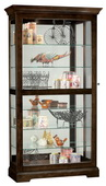 Howard Miller CHM4874 Deluxe Espresso Finish Curio Cabinet (Made in USA)