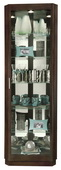 Howard Miller Corner Curio Cabinet In Espresso Finish (Made in USA)- CHM4182