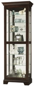 Howard Miller Espresso Finish Wooden Curio Cabinet (Made in USA) - CHM4064