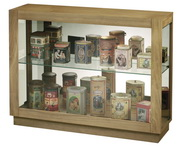 Howard Miller Marsh Bay Deluxe Driftwood Finish Curio Cabinet Console (Made in USA) - CHM4194