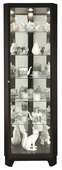 Howard Miller CHM5048 Deluxe Corner Curio Cabinet (Made in USA)