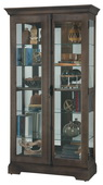Howard Miller CHM5072 Deluxe Curio Cabinet (Made in USA)