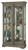 Howard Miller CHM5074 Deluxe Curio Cabinet (Made in USA)