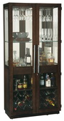 Howard Miller Deluxe CHM5084 Espresso Finish Wooden Wine Cabinet