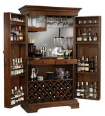 Howard Miller Sonoma Deluxe Americana Cherry Exceptional Wooden Wine Cabinet - CHM1254
