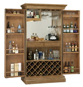 Howard Miller Clare Valley Bar Cabinet in Wellington Hall Finish