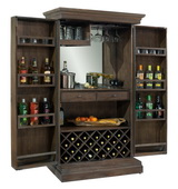 Howard Miller Monaciano Hide A Bar Wooden Wine & Bar Cabinet - CHM4428