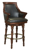 Howard Miller Oliver Deluxe Americana Cherry Wooden Bar Stool - CHM4262