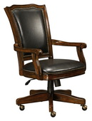 Howard Miller CHM4244 Charleston Place Cherry Wooden Club Chair