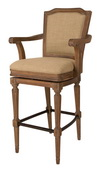 Howard Miller Woodrow Relaxed Classic Bar Stool
