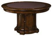 Howard Miller CHM4320 Roxbury Deluxe Charleston Place Cherry Wooden Game Table