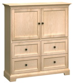 50in Wide Howard Miller Custom Home Storage Cabinet - CHM4496