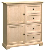 50in Wide Howard Miller Custom Home Storage Cabinet - CHM4504