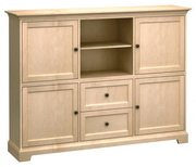 73in Wide Howard Miller Custom Home Storage Cabinet - CHM4556