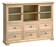 73in Wide Howard Miller Custom Home Storage Cabinet - CHM4580