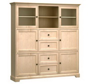 73in Wide Howard Miller Custom Home Storage Cabinet - CHM4584