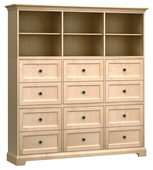 73in Wide Howard Miller Custom Home Storage Cabinet - CHM4588