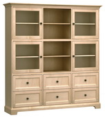 73in Wide Howard Miller Custom Home Storage Cabinet - CHM4592