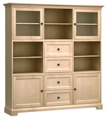 73in Wide Howard Miller Custom Home Storage Cabinet - CHM4600