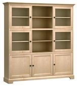 73in Wide Howard Miller Custom Home Storage Cabinet - CHM4608