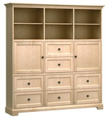 73in Wide Howard Miller Custom Home Storage Cabinet - CHM4612