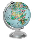 10in Replogle GLOBE 4 KIDS Desk Globe Blue Ocean - CRP1653